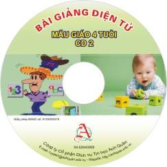 Mầm non lớp 4 tuổi - CD2